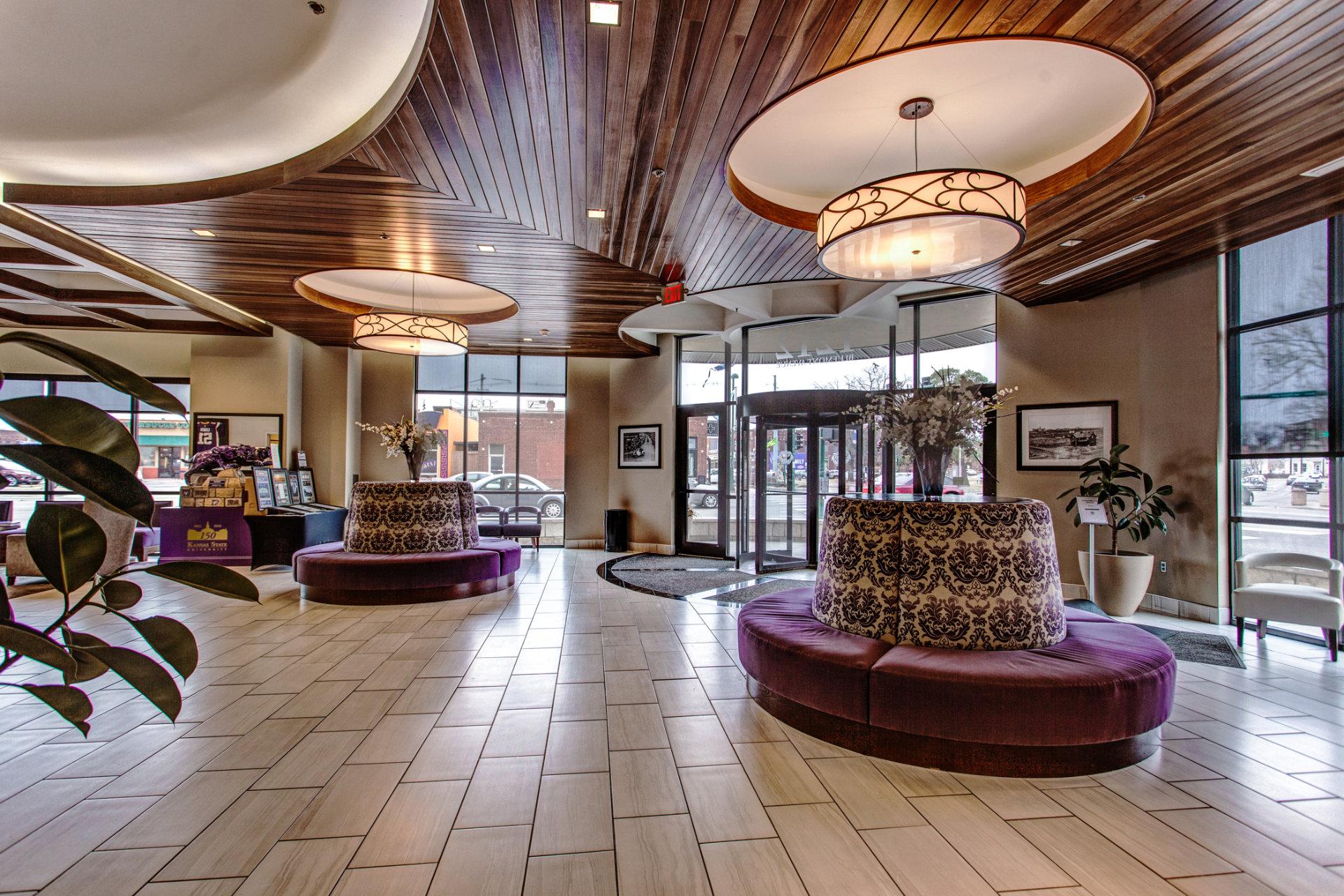 Lobby Rotating Doors